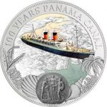 Niue - 2014 - 2 Dollars - 100 Years Panama Canal (including box) (PROOFLIKE)