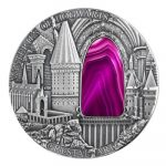 Niue - 2016 - 2 Dollars - Crystal Art IV HOGWARTS CASTLE (ANTIQUE)