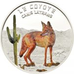Niger - 2013 - 1000 Francs - Predator Hunters CANIS LATRANS COYOTE (PROOF)