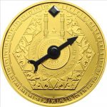 Niger - 2012 - 100 Francs - Mecca Compass Copper Goldplated (including box) (PROOF)