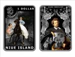 Niue - 2010 - 1 Dollar - Painters Brullov (PROOF)