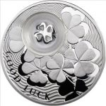 Niue - 2010 - 1 Dollar - Clover LOCKED (PROOF)