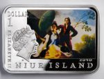 Niue Island - 2010 - 1 dollar - Painters of the World FRANCISCO GOYA (PROOF)
