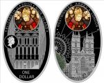 Niue - 2010 - 1 Dollar - Cathedrals WESTMINSTER (PROOF)