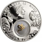 Niue - 2012 - 1 dollar - Golden Snakes (PROOF)