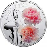 Belarus - 2013 - 10 Roubles - Under the Charm of Flowers CARNATION (PROOF)