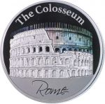 Niue - 2015 - 2 Dollars - The Hologram Collection COLOSSEUM ROME (PROOF)