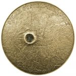 Niue - 2016 - 1 Dollar - Solar System II MERCURY METEORITE (ANTIQUE)