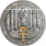 Palau - 2014 - 20 Dollars - Egyptian Symbols ANKH (including box) (ANTIQUE)