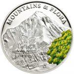 Palau - 2014 - 5 Dollars - Mountains & Flora DHAULAGIRI (including box) (PROOF)
