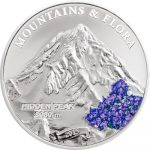 Palau - 2015 - 5 Dollars - Mountains and Flora HIDDEN PEAK (including box) (PROOF)