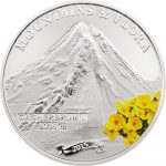 Palau - 2015 - 5 Dollars - Mountains and Flora GASHERBRUM II (including box) (PROOF)