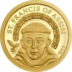 Palau - 2013 - 1 Dollar - Saint Francis of Assisi (PROOF)