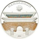 Palau - 2013 - 5 dollar - World of Wonders NAMDAEMUN(including box) (PROOF)