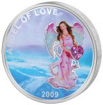 Palau - 2009 - 1 Dollar - Angel of Love Luck Coin (PROOF)