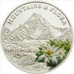 Palau - 2009 - 5 Dollars - Flora & Mountains GROSSGLOCKNER (PROOF)
