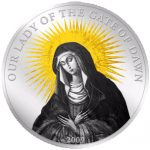 Palau - 2009 - 5 Dollars - Our Lady of the Gate of Dawn (PROOF)