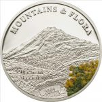 Palau - 2009 - 5 Dollars - Flora & Mountains OETSCHER (PROOF)