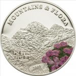 Palau - 2009 - 5 Dollars - Flora & Mountains PIZ BUIN (PROOF)