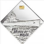 Palau - 2009 - 10 Dollars - HMS Prince of Wales Battleship Series (PROOF)