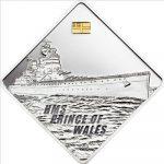 Palau - 2011 - 10 Dollars - HMAS Australia Battleship Series (PROOF)