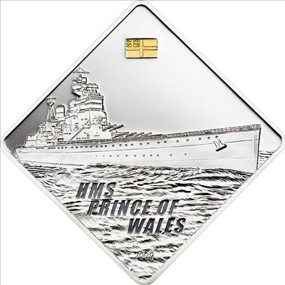 Palau - 2011 - 10 Dollars - HMAS Australia Battleship Series (PROOF)