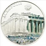 Palau - 2010 - 5 Dollars - World of Wonders AKROPOLIS (PROOF)