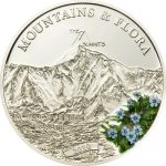 Palau - 2010 - 5 Dollars - Flora & Mountains MOUNT EVEREST (PROOF)
