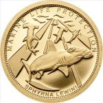 Palau - 2010 - 1 Dollar - Marine Life SCALLOPED HAMMERHEAD (PROOF)