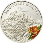 Palau - 2010 - 5 Dollars - Flora & Mountains CARSTENZ PYRAMID (PROOF)