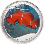 Palau - 2011 - 5 Dollars - Marine Life ANEMONEFISH (PROOF)