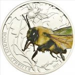 Palau - 2011 - 2 Dollars - World of Insects BUMBLE BEE (PROOF)