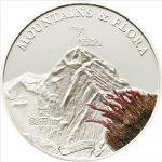 Palau - 2011 - 5 Dollars - Flora & Mountains K2 (PROOF)