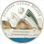 Palau - 2011 - 5 Dollars - World of Wonders OPERA HOUSE (PROOF)