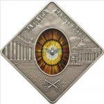 Palau - 2011 - 10 Dollars - Sacred Art Holy Windows ST PETERS BASILICA (PROOF)