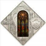Palau - 2011 - 10 Dollars - Sacred Art Holy Windows ST PATRICK NEW YORK (PROOF)
