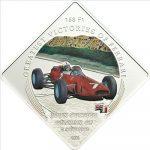 Palau - 2011 - 1 Dollar - Greatest Victories of Ferrari Ferrari 158 F1 Surtees (PROOF)