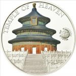 Palau - 2011 - 5 Dollars - World of Wonders TEMPLE OF HEAVEN (PROOF)