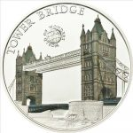Palau - 2011 - 5 Dollars - World of Wonders TOWER BRIDGE (PROOF)