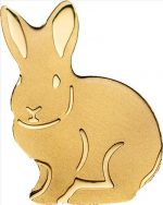 Palau - 1 dollar - Golden Rabbit (BU)