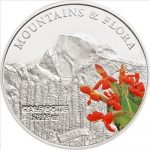 Palau - 2012 - 5 dollars - Mountains and Flora HALF DOME (including box) (PROOF)