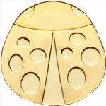 Palau - 2012 - 1 dollar - Golden Ladybug (including box) (BU)