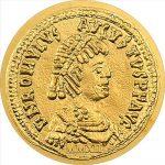 Palau - 2012 - 1 Dollar - The Coins of the Roman Empire ROMULUS AUGUSTULUS (BU)