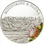 Palau - 2012 - 5 Dollars - Flora & Mountains TABLE MOUNTAIN (incl box) (PROOF)