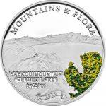 Palau - 2013 - 5 dollar - Mountains & Flora BAEKDU MOUTAIN (including box) (PROOF)