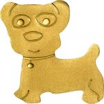Palau - 2013 - 1 dollar - Golden Dog (BU)