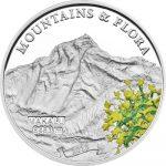 Palau - 2013 - 5 dollar - Mountains & Flora MAKALU (including box) (PROOF)