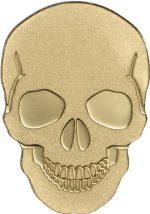 Palau - 2016 - 1 Dollar - Golden Skull (BU)