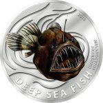 Pitcairn Islands - 2010 - 2 Dollars - Deep Sea Fish Black SeaDevil (PROOF)