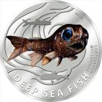 Pitcairn Islands - 2010 - 2 Dollars - Deep Sea Fish LanternFish (PROOF)